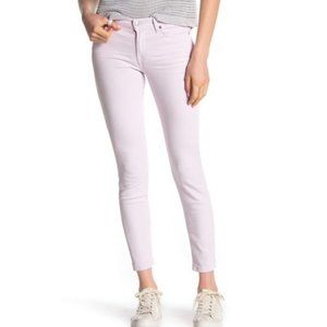 SEVEN FOR ALL MANKIND Lilac Skinny Ankle Jeans